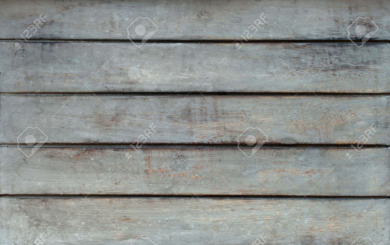 Horizontal Grey Rustic Wooden Table Texture Taken From The Top. Stock Photo    66524547