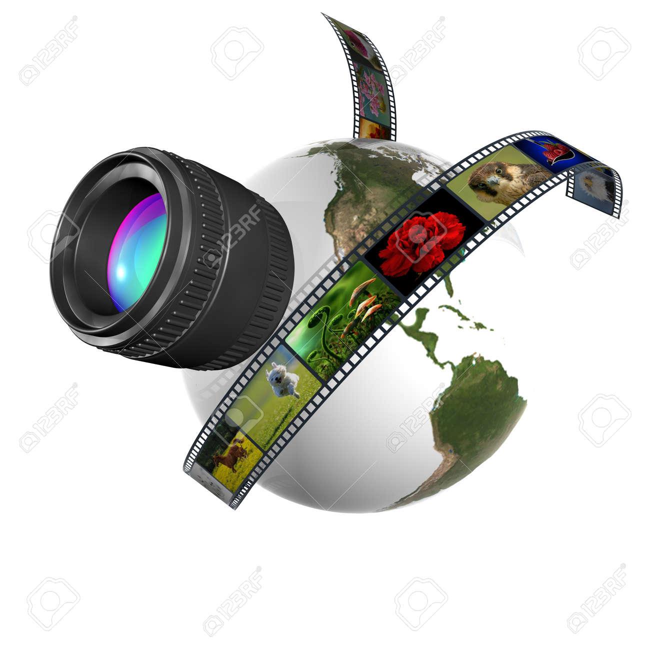 film 3d Stock Photo - 13912573