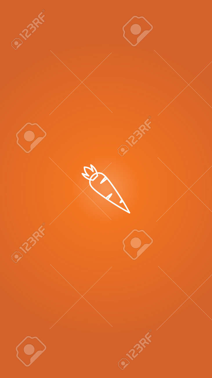 Highlights stories covers designs. Carrot highlight vector - 169259009