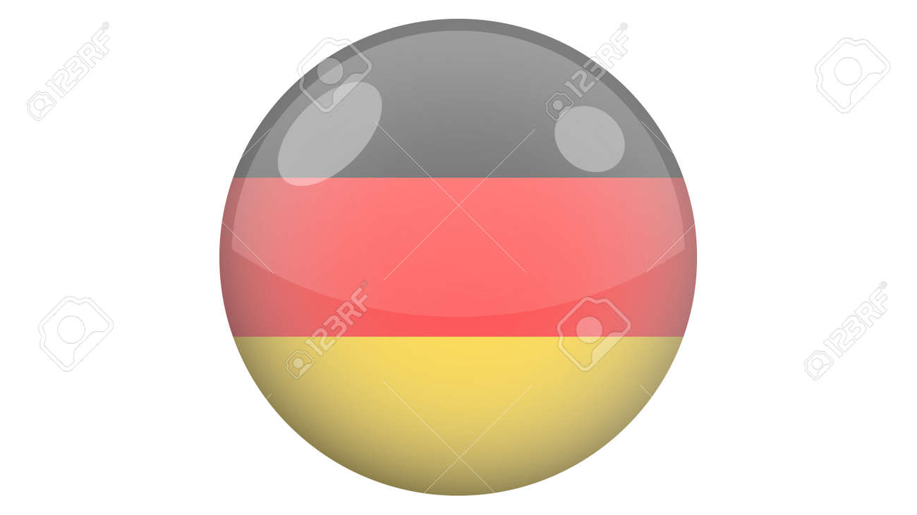 National flag of Germany in icon design. German flag vector - 169438679
