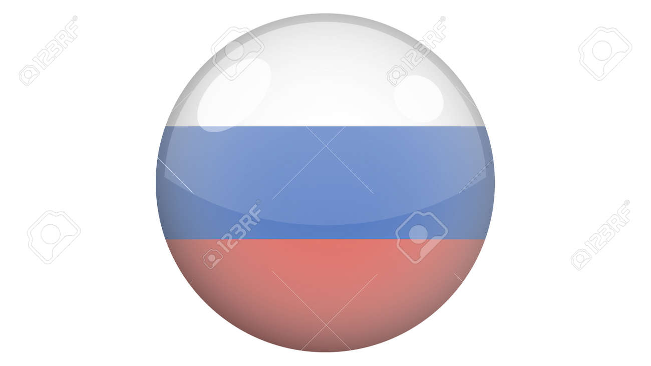 National flag of Russia in icon design. Russian flag vector - 169438687