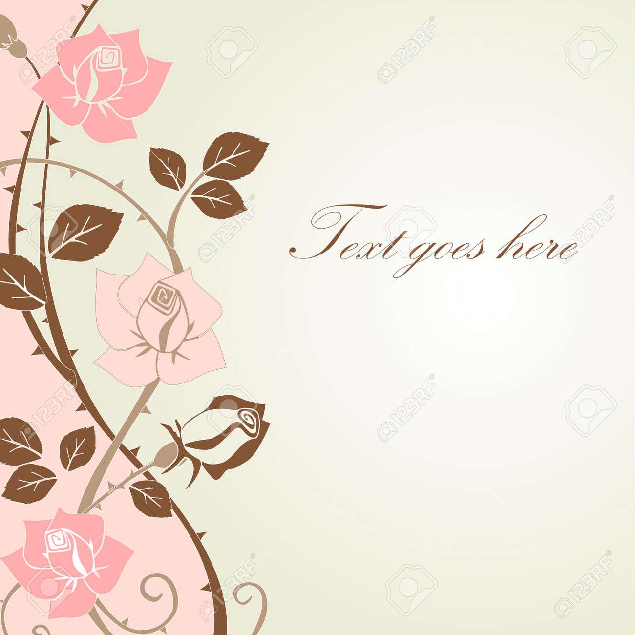 floral design Stock Vector - 11121104