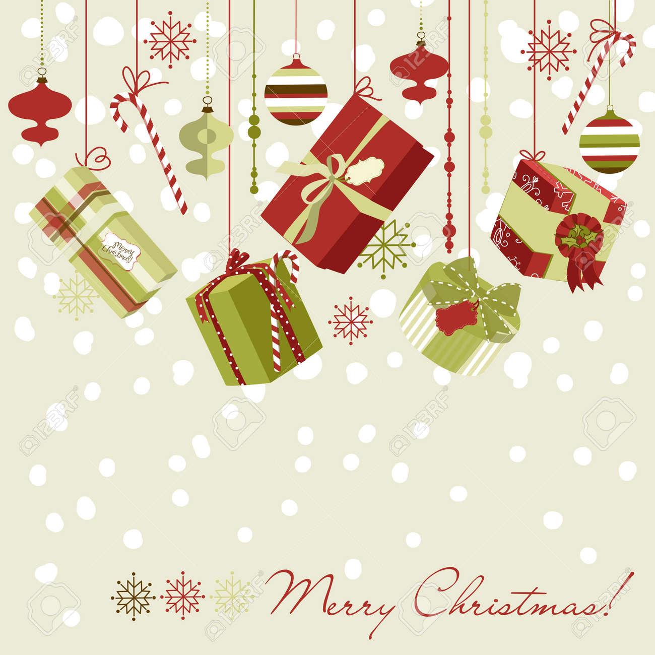 Christmas gifts Stock Vector - 11419724