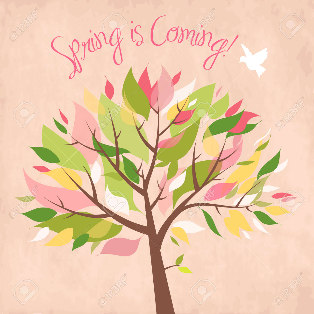 Spring is coming! Stock Vector - 12851329