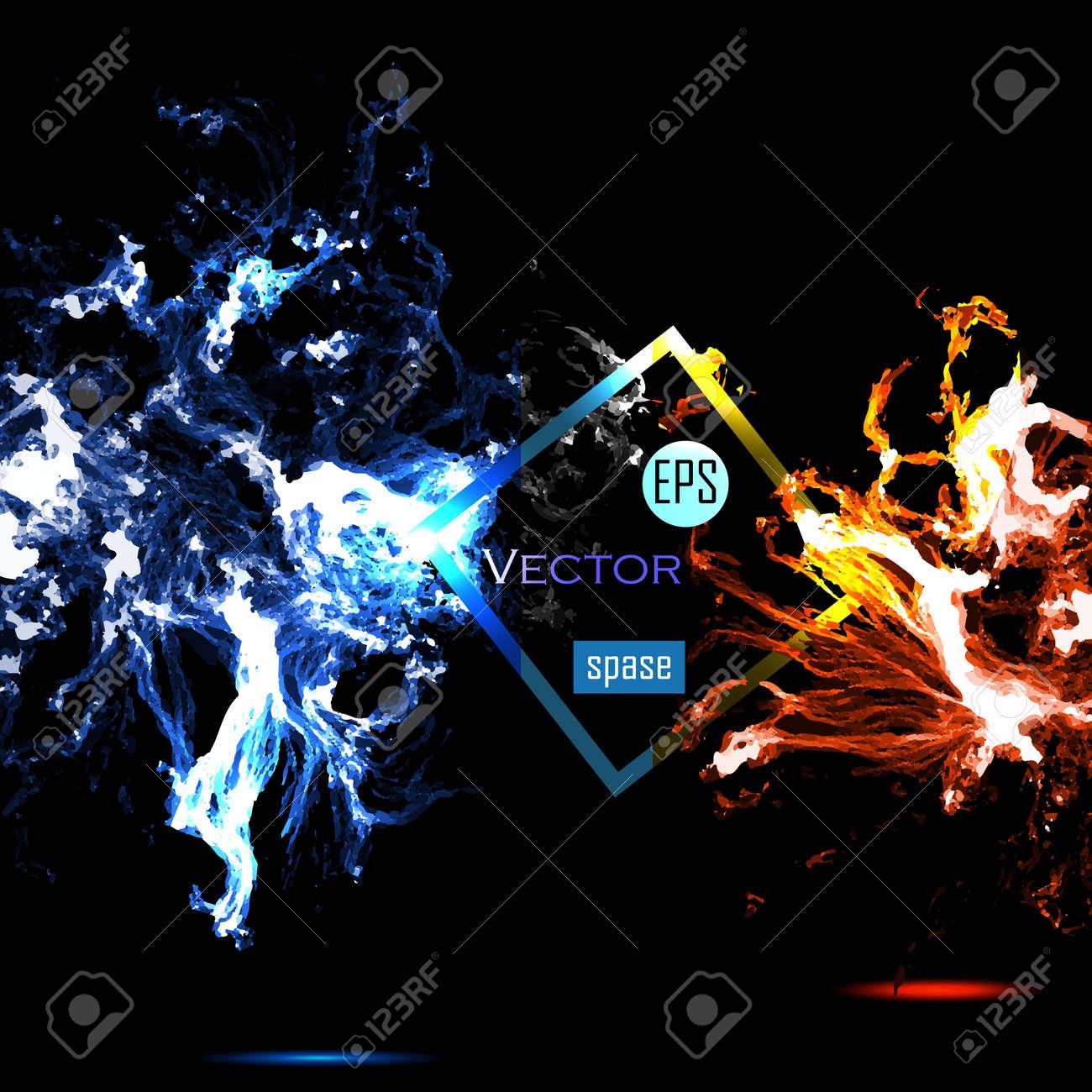 Vector Universe background for presentation design. EPS 10 illustration. - 41073364