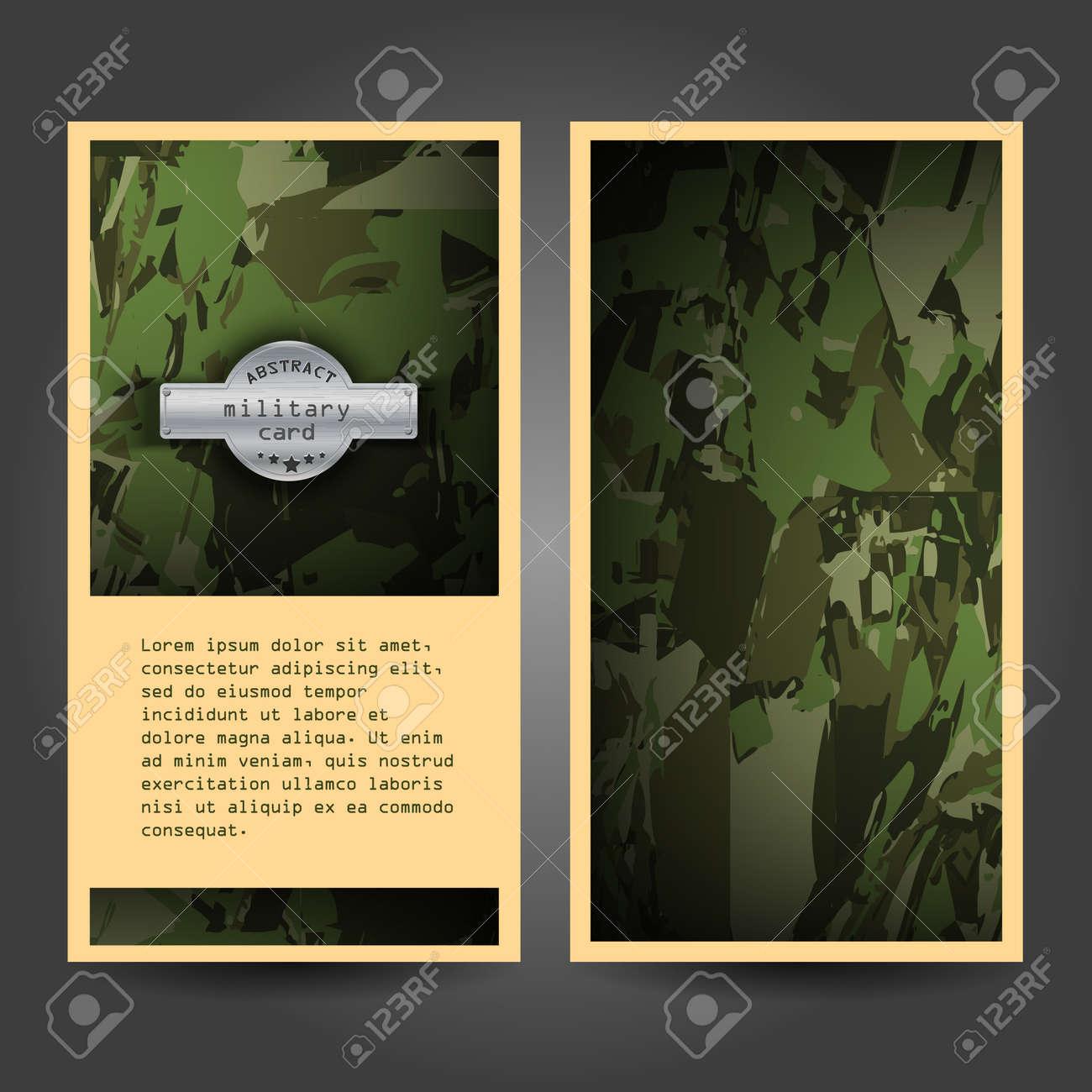 Diseño De La Plantilla De Escritorio Con Patrón De Camuflaje Militar ...
