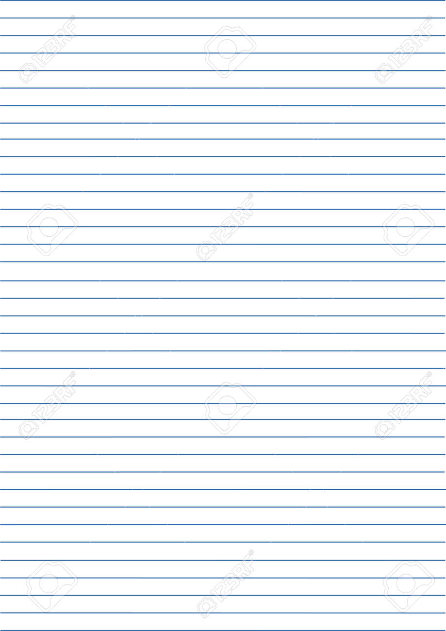 notebook paper background. paper in line. vector illustration