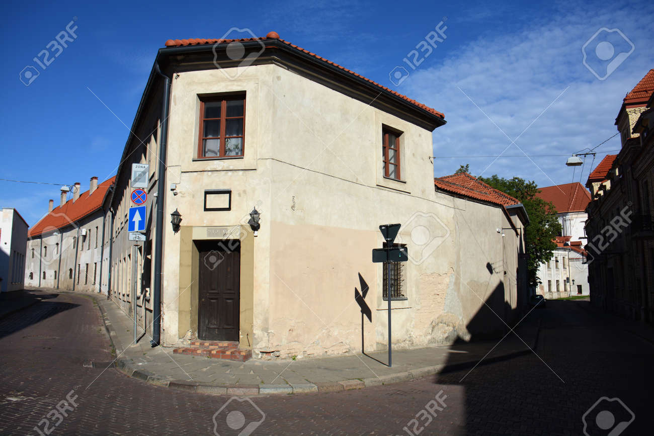 Old old town streets Vilnius, heritage, capital Lithuania - 167734168