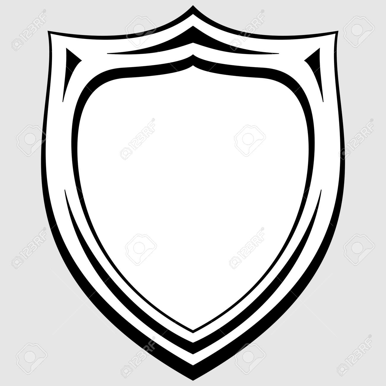 blank police patch template