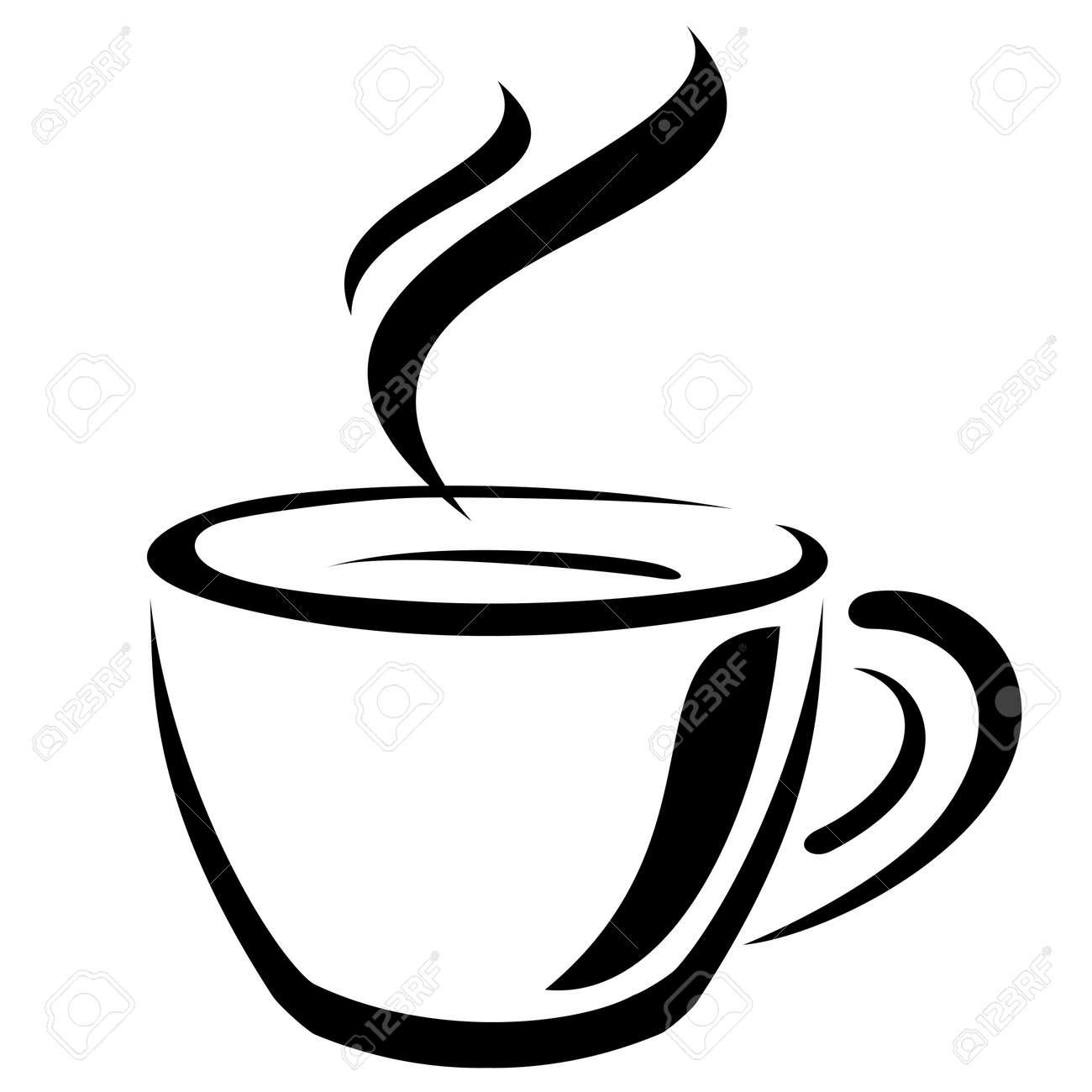 Tasse clipart  šálek Kávy Royalty Free Kliparty, Vektory A Ilustrace. Image 13481500.