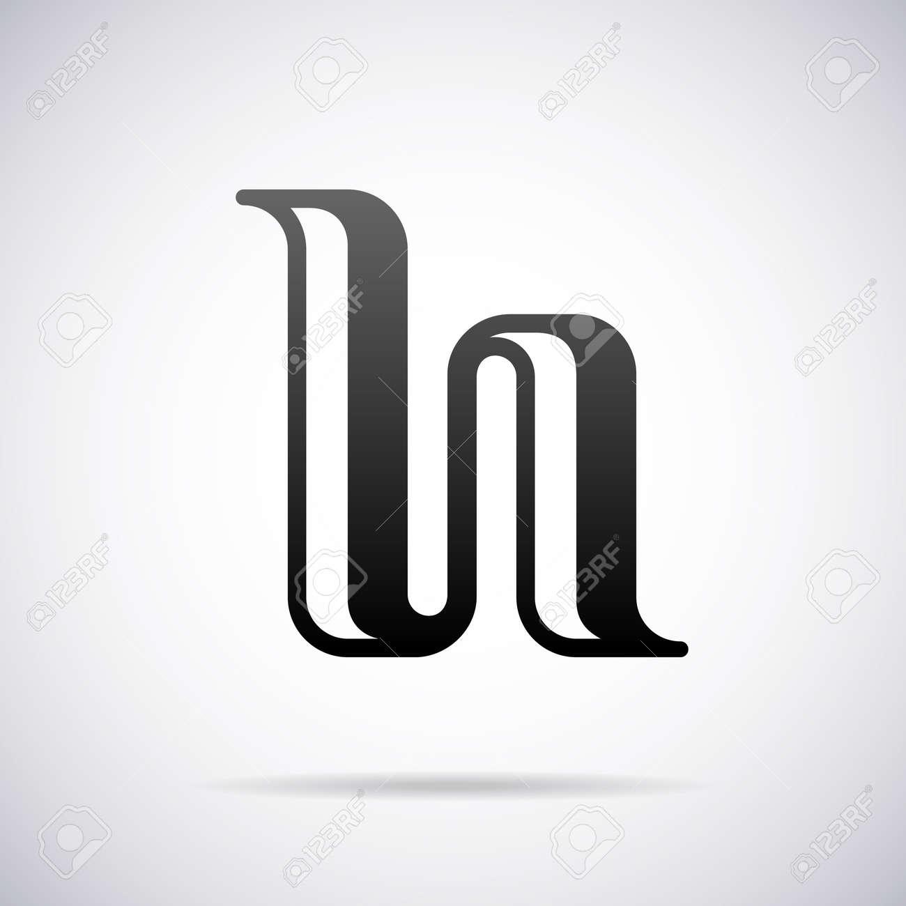Letter H Design Template Vector Illustration