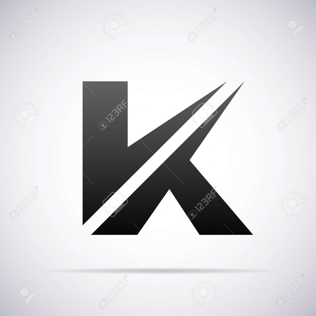 Letter k design template vector illustration royalty free cliparts letter k design template vector illustration stock vector 40297719 spiritdancerdesigns Choice Image