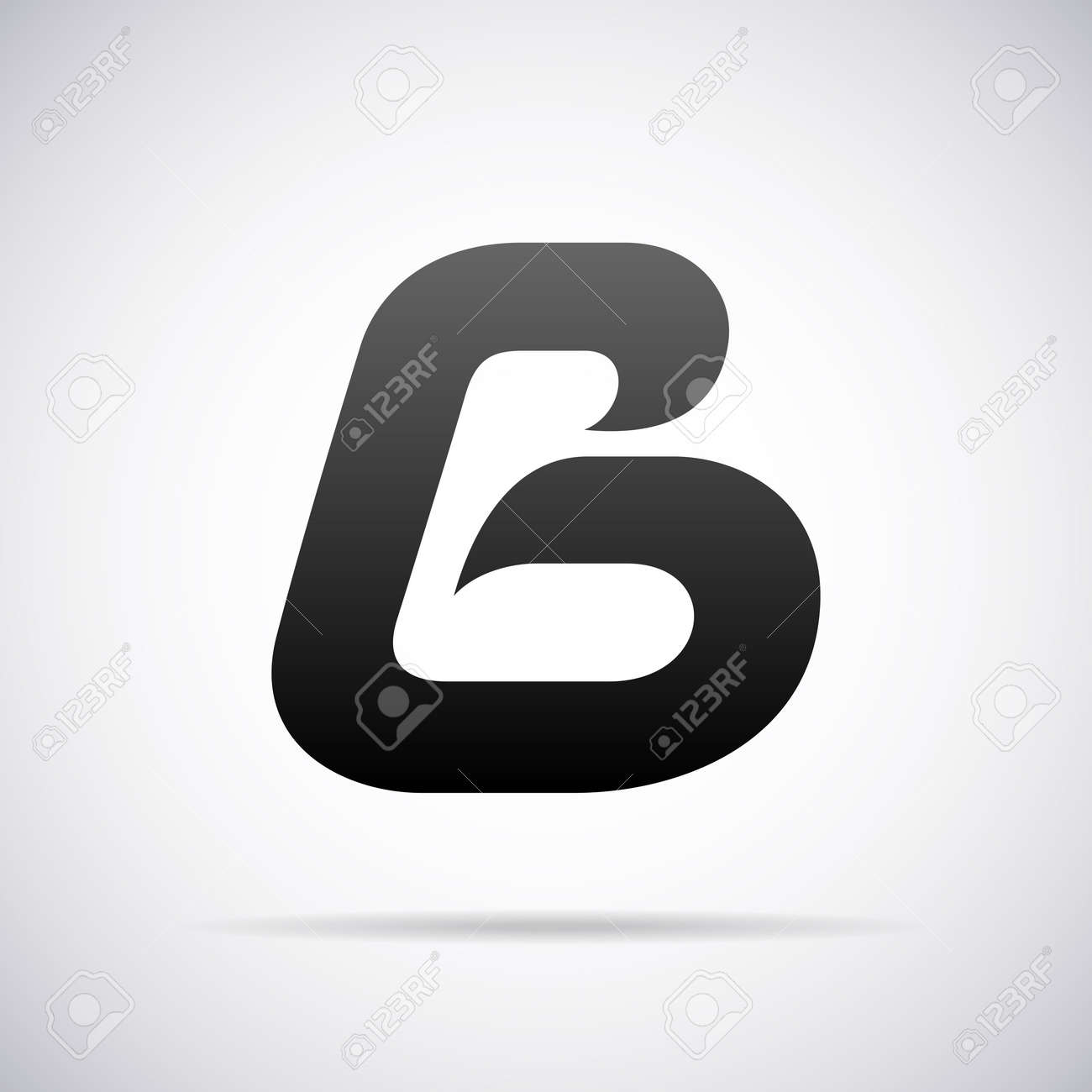 vector letter b design template vector illustration