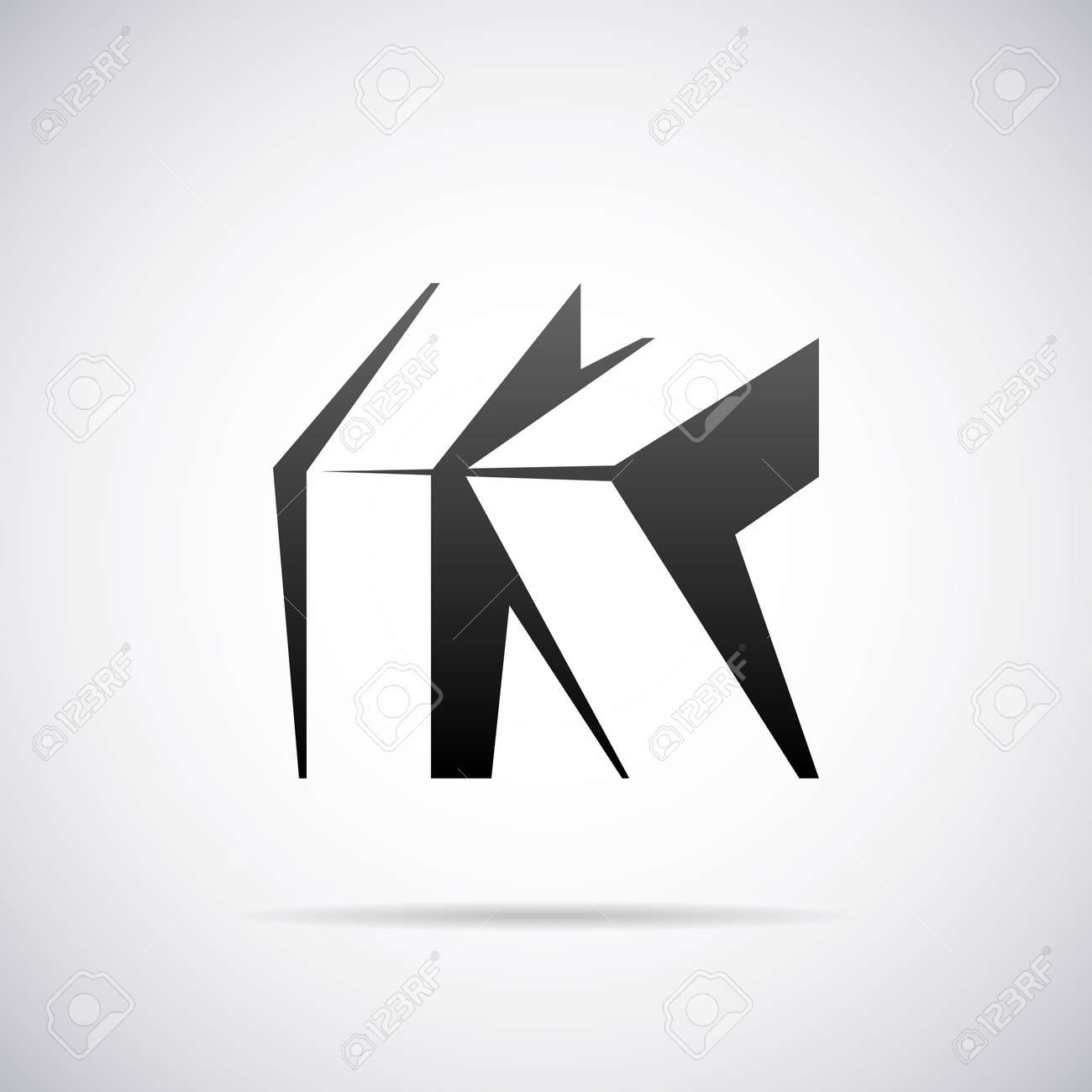 Letter k design template vector illustration royalty free cliparts letter k design template vector illustration stock vector 41690298 spiritdancerdesigns Choice Image