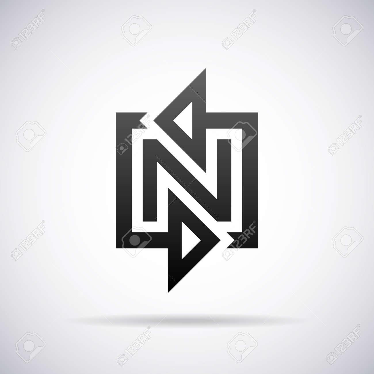 cool letter n designs cool letter n