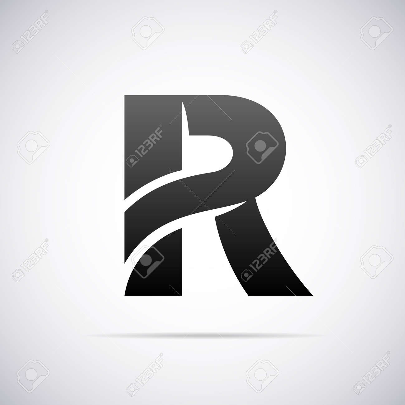 Letter r logo stock photos royalty free letter r logo images logo for letter r design template vector illustration illustration thecheapjerseys Images
