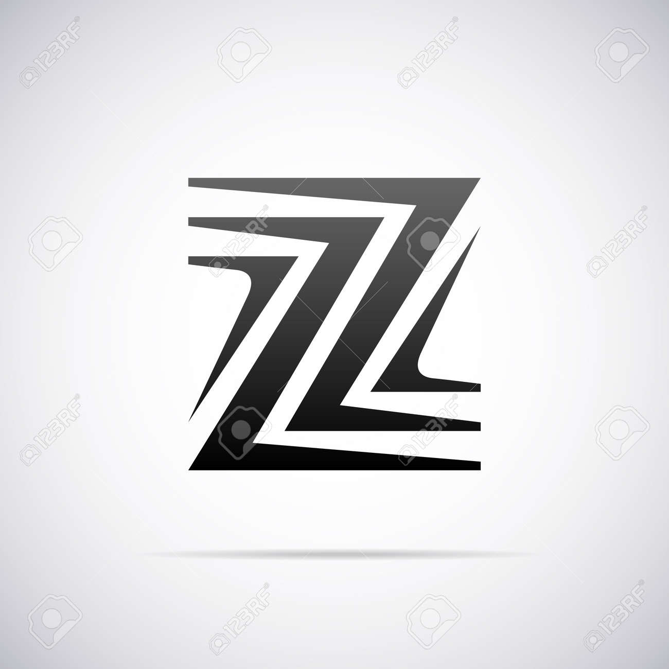 logo for letter z design template vector illustration royalty free