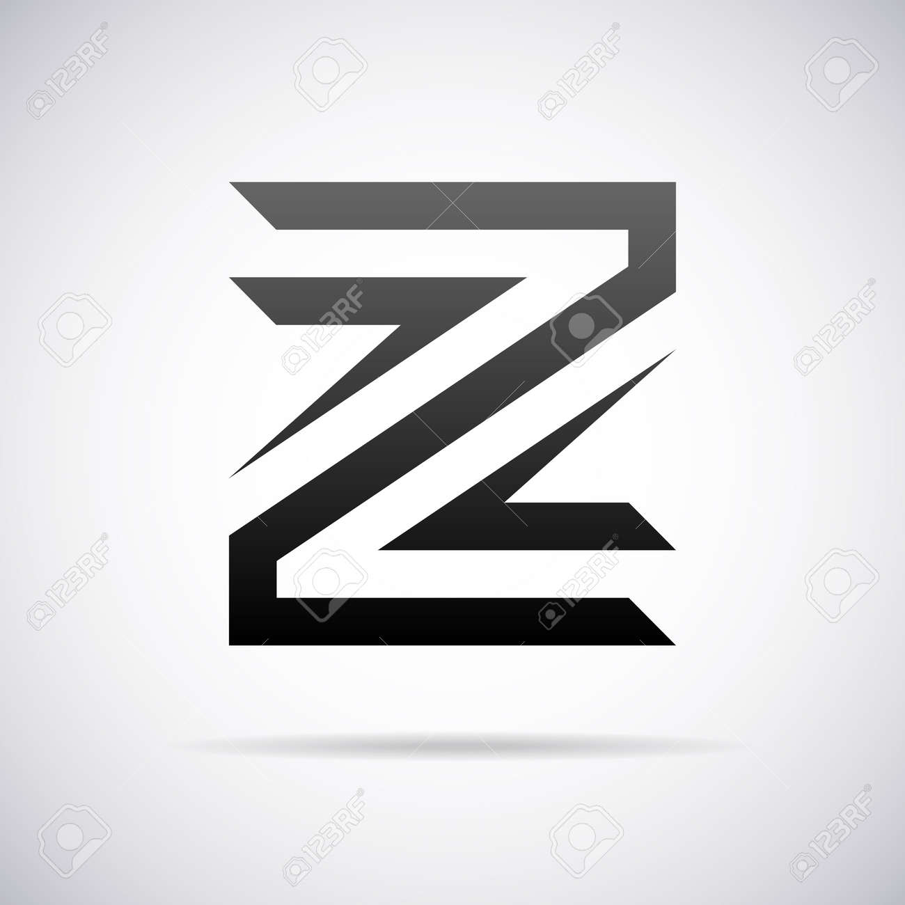 Logo For Letter Z Design Template Vector Illustration Stock Vector    43081562