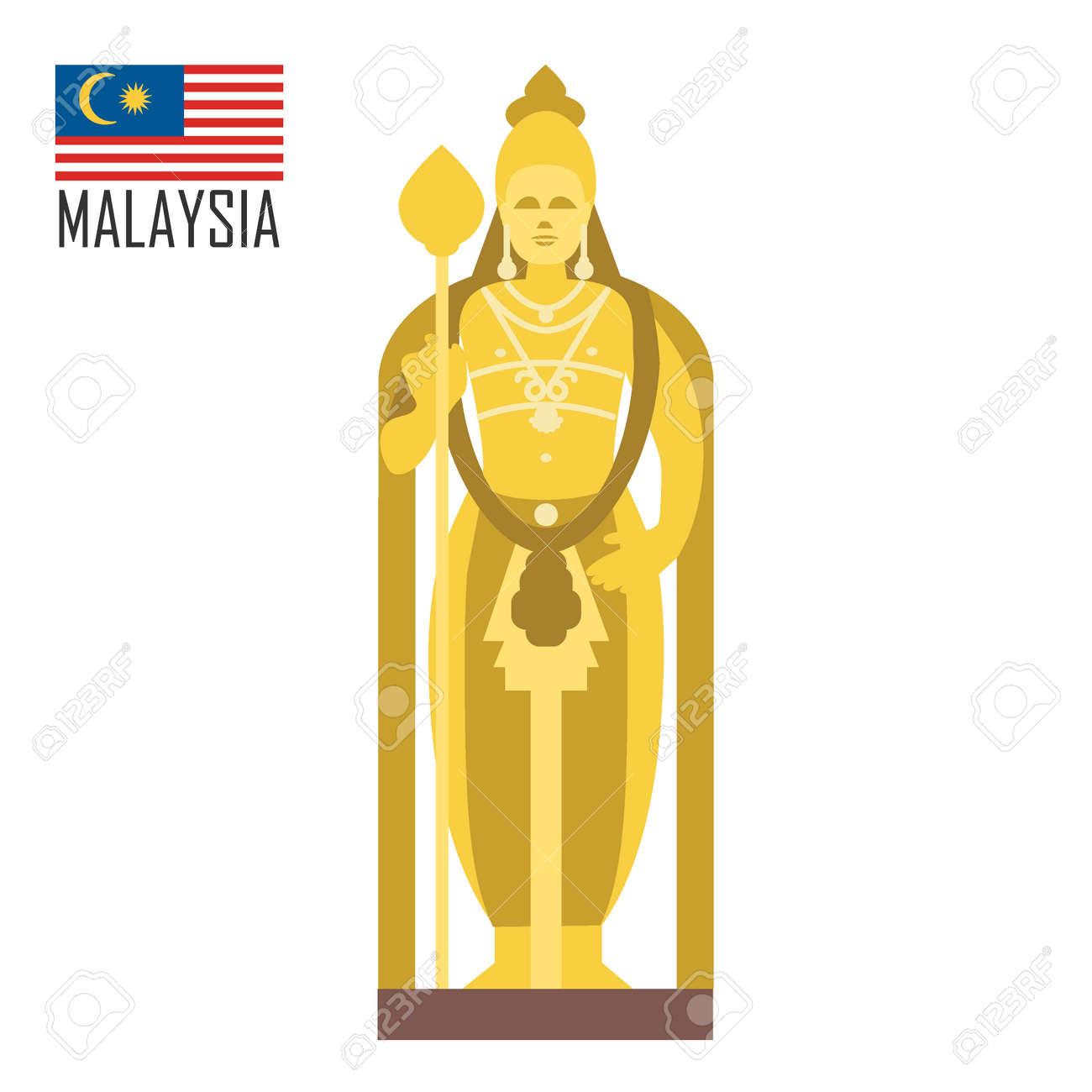 Buddha golden statue in Malaysia, Kuala Lumpur - 140068661