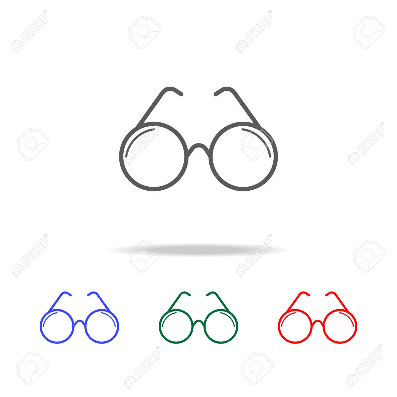 c39192297838 optical glasses icon. Elements in multi colored icons for mobile concept  and web apps.