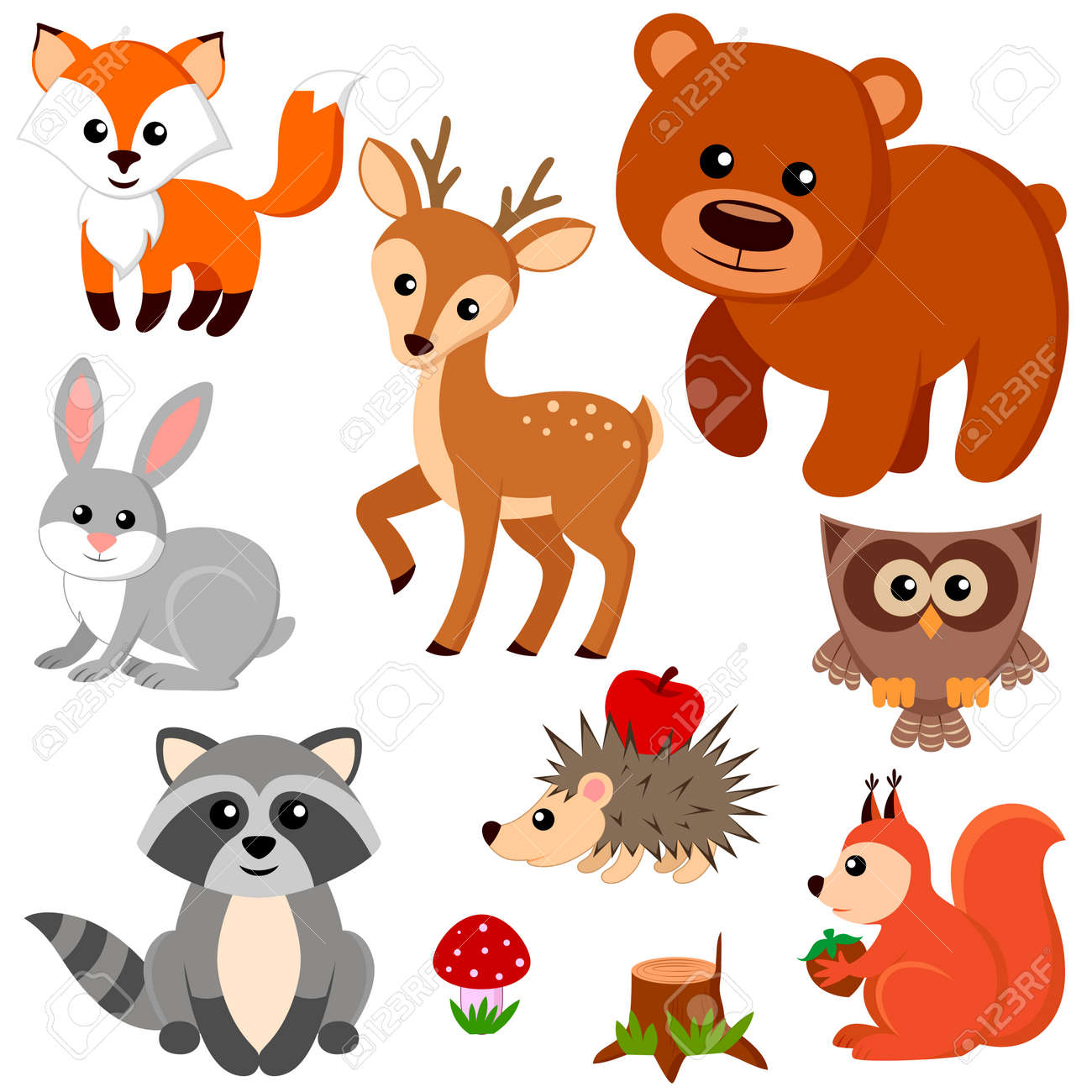 Forest animals. - 63134001