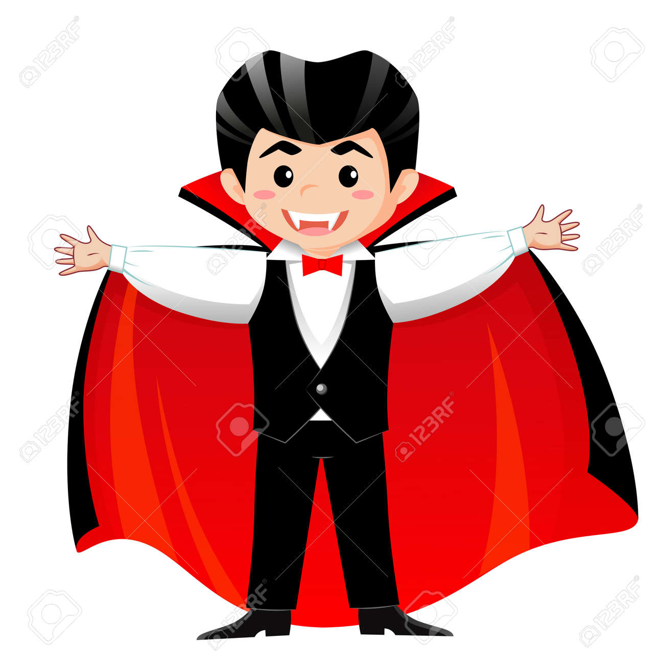 Count Dracula Vampire Boy In Halloween Costume Royalty Free Cliparts Vectors And Stock Illustration Image 87823265