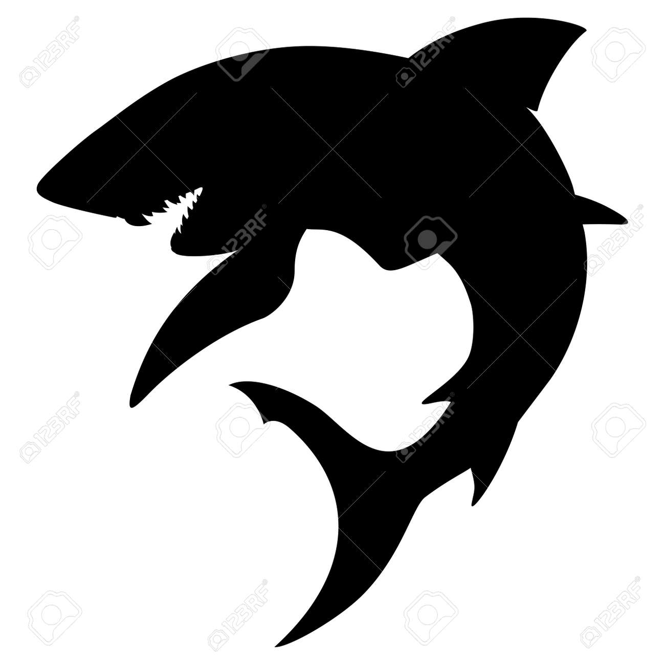 Shark Silhouette Royalty Free Cliparts Vectors And Stock Illustration Image 2646028 Free for commercial use with attribution. shark silhouette