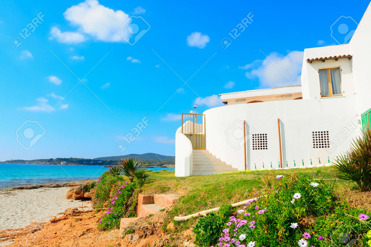 beach house in Alghero shoreline, Italy - 40759696