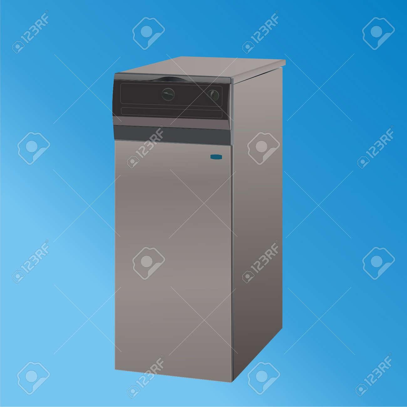 heating boiler vector1 Stock Vector - 7572378