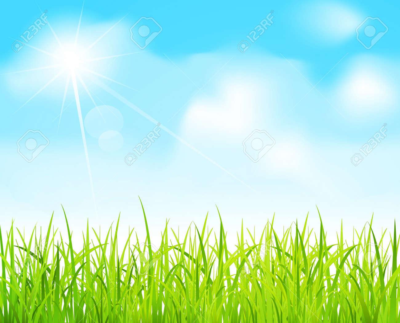Field Blue Sky Clip Art – Clipart Download