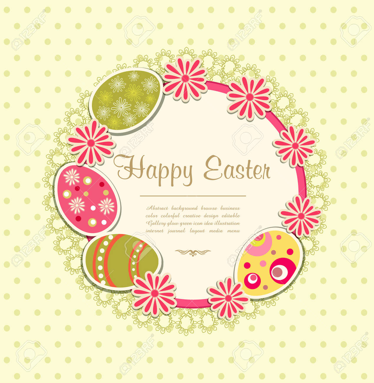 Easter holiday background Stock Vector - 11905999