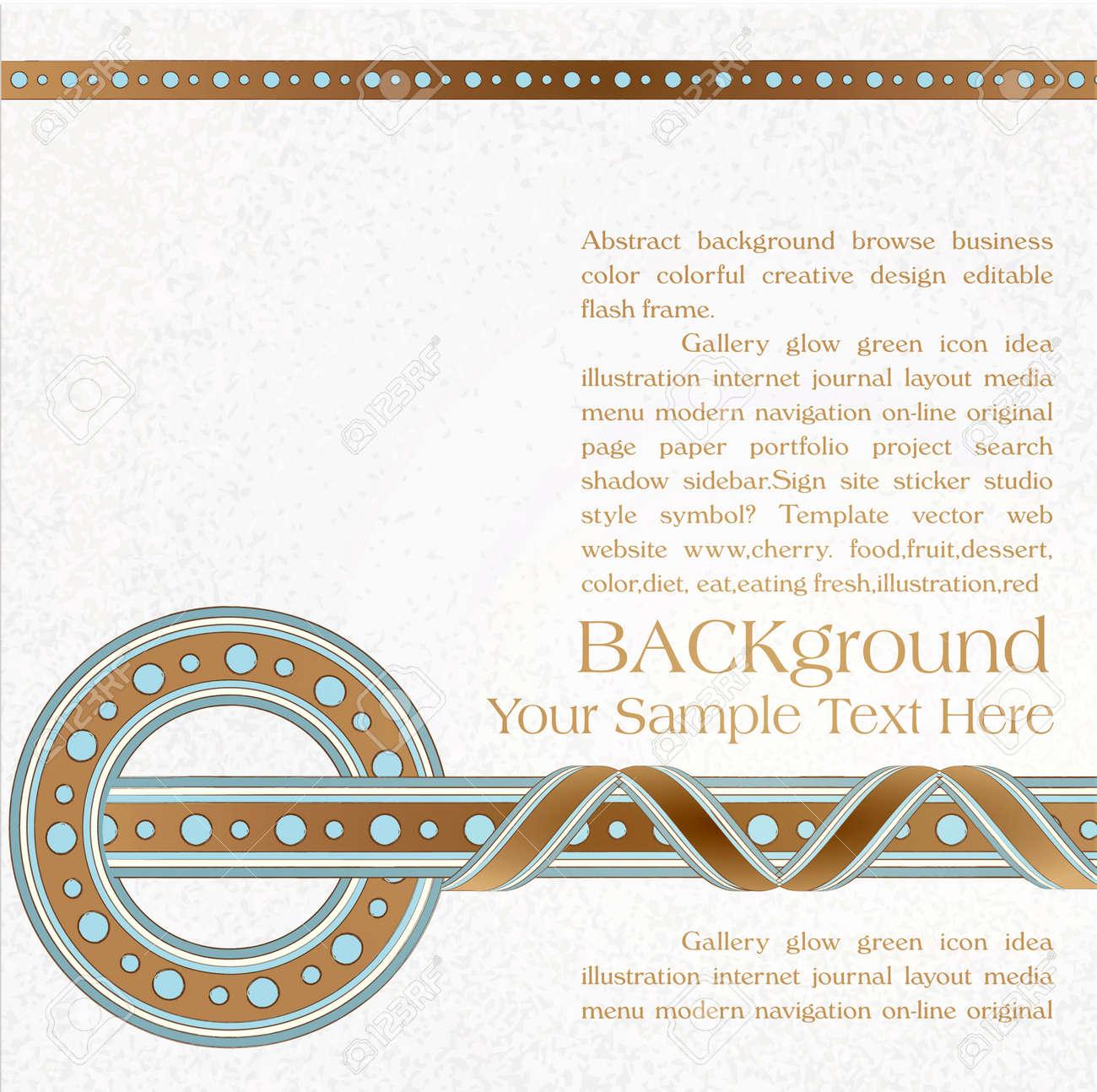 vector vintage, ornate background Stock Vector - 12205100