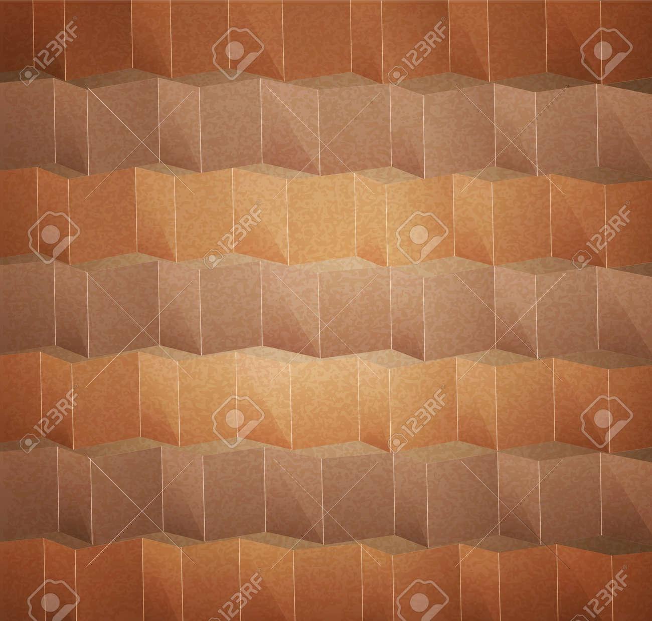 vector beige abstract  background Stock Vector - 12488380