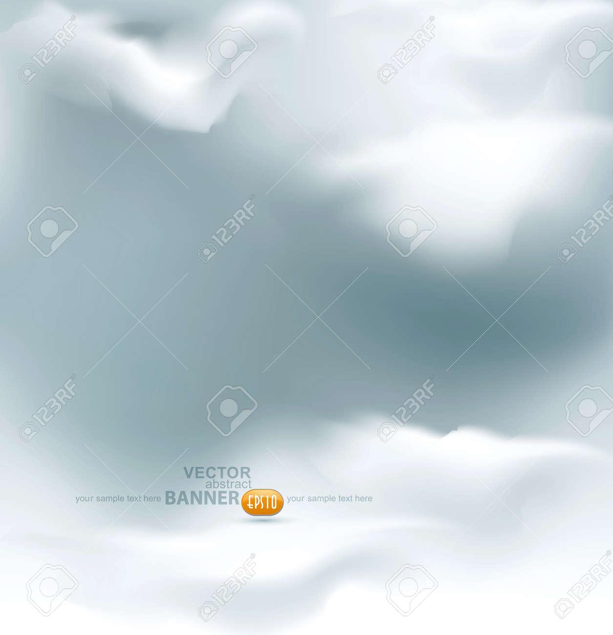 vector grey sky Stock Vector - 17336743