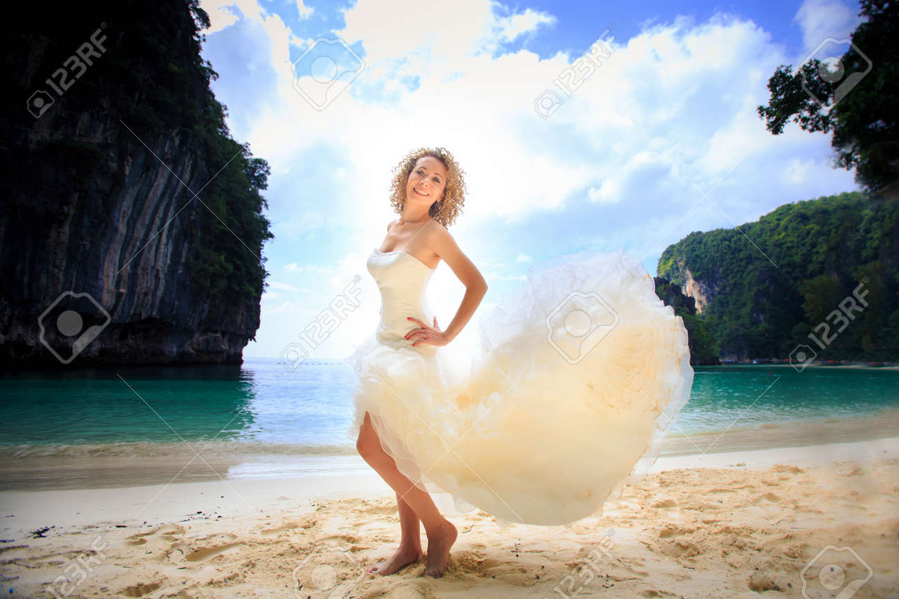 island wedding dresses casual island wedding dresses Tea Length Island Wedding Dresses Free