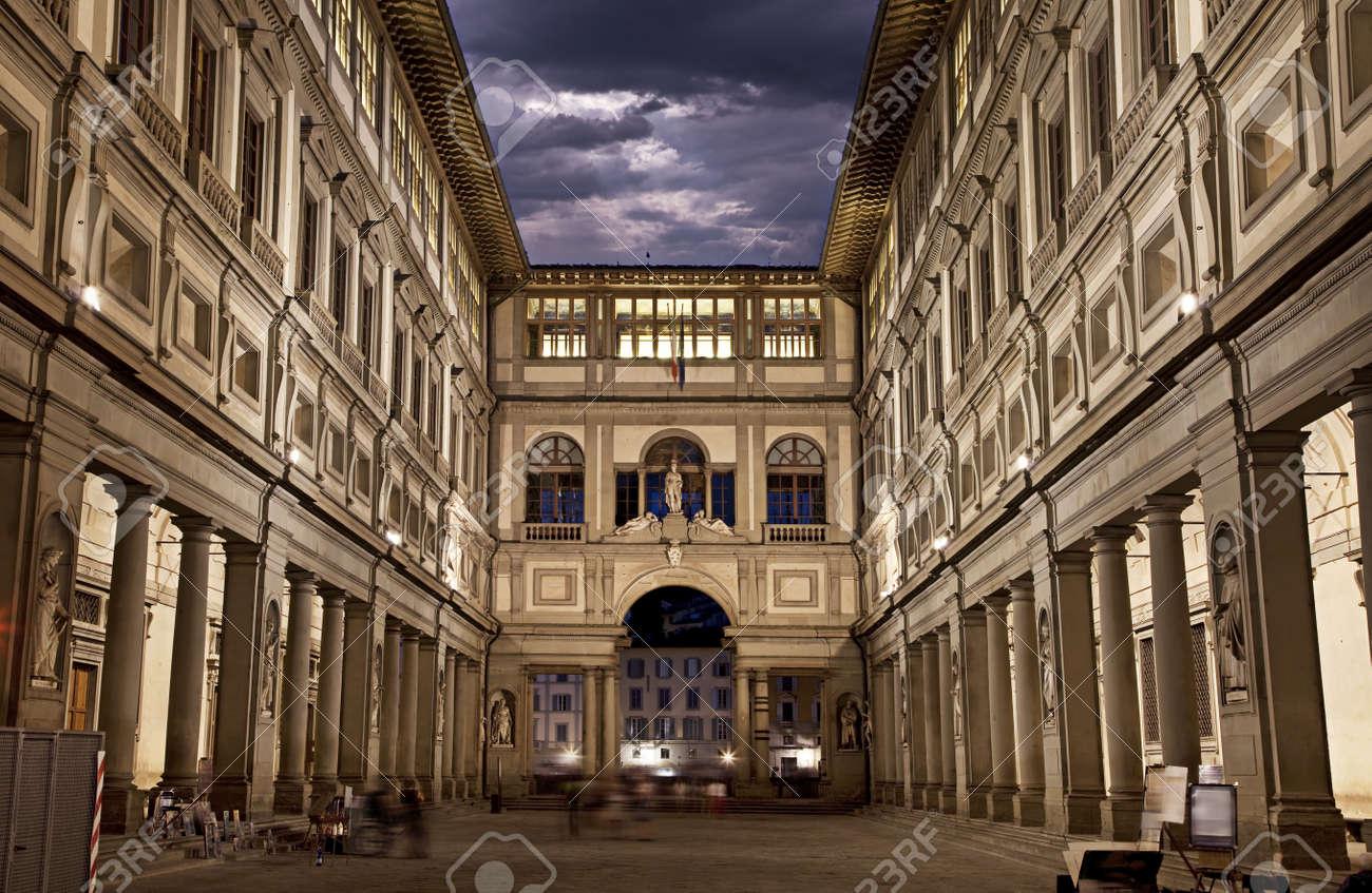 Uffizi Gallery, primary art museum of Florence Tuscany, Italy - 20762134