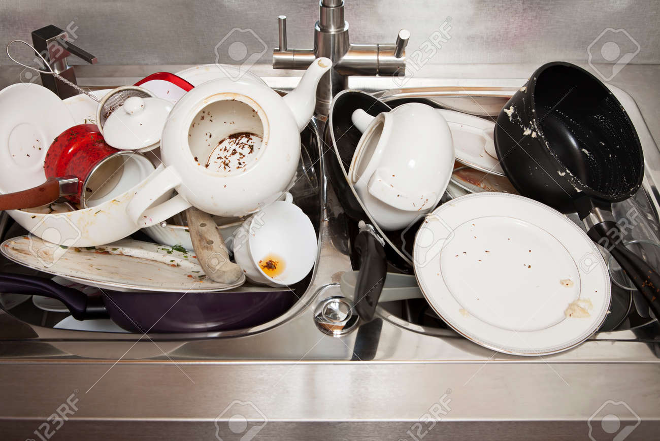 No Dirty Dishes In Sink