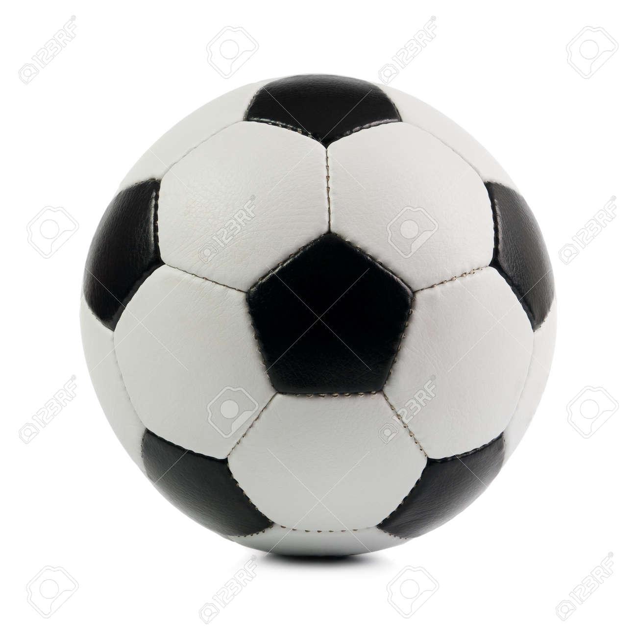 Football. Isolated on white background. Stock Photo - 9871251