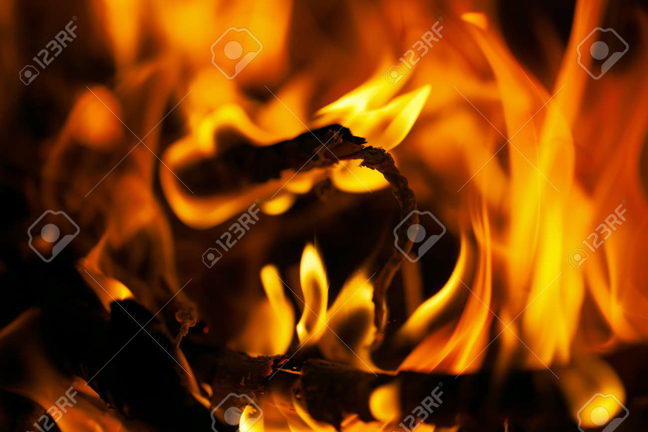 Flames. Can be used as a background. Stock Photo - 25239178