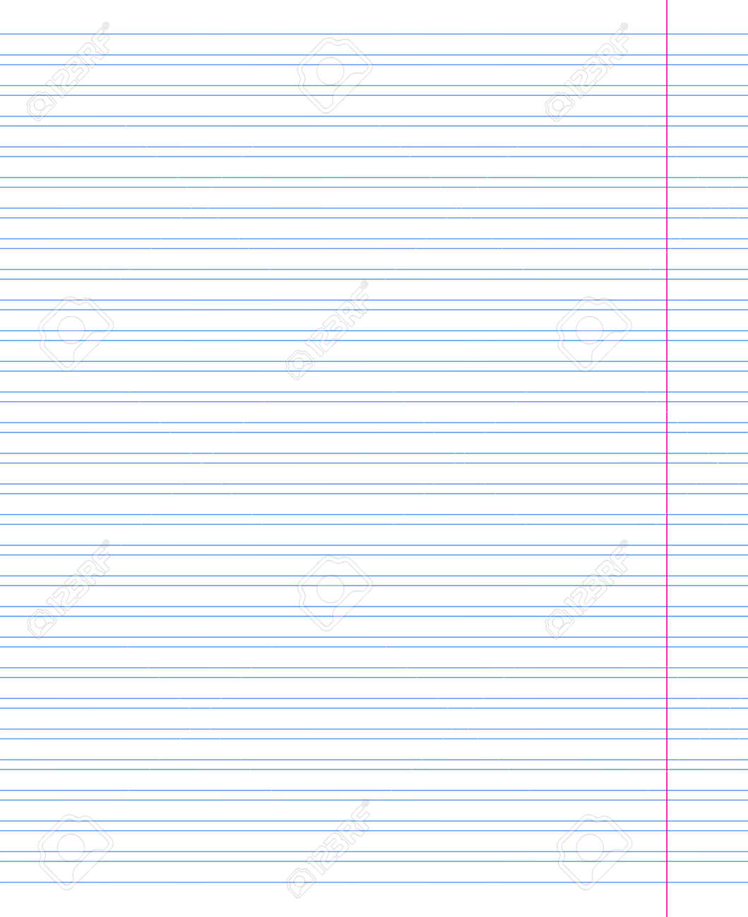 Grid paper. Abstract striped background with color horizontal lines. Geometric pattern for school, wallpaper, textures, notebook. Lined paper blank isolated on transparent background - 165674068