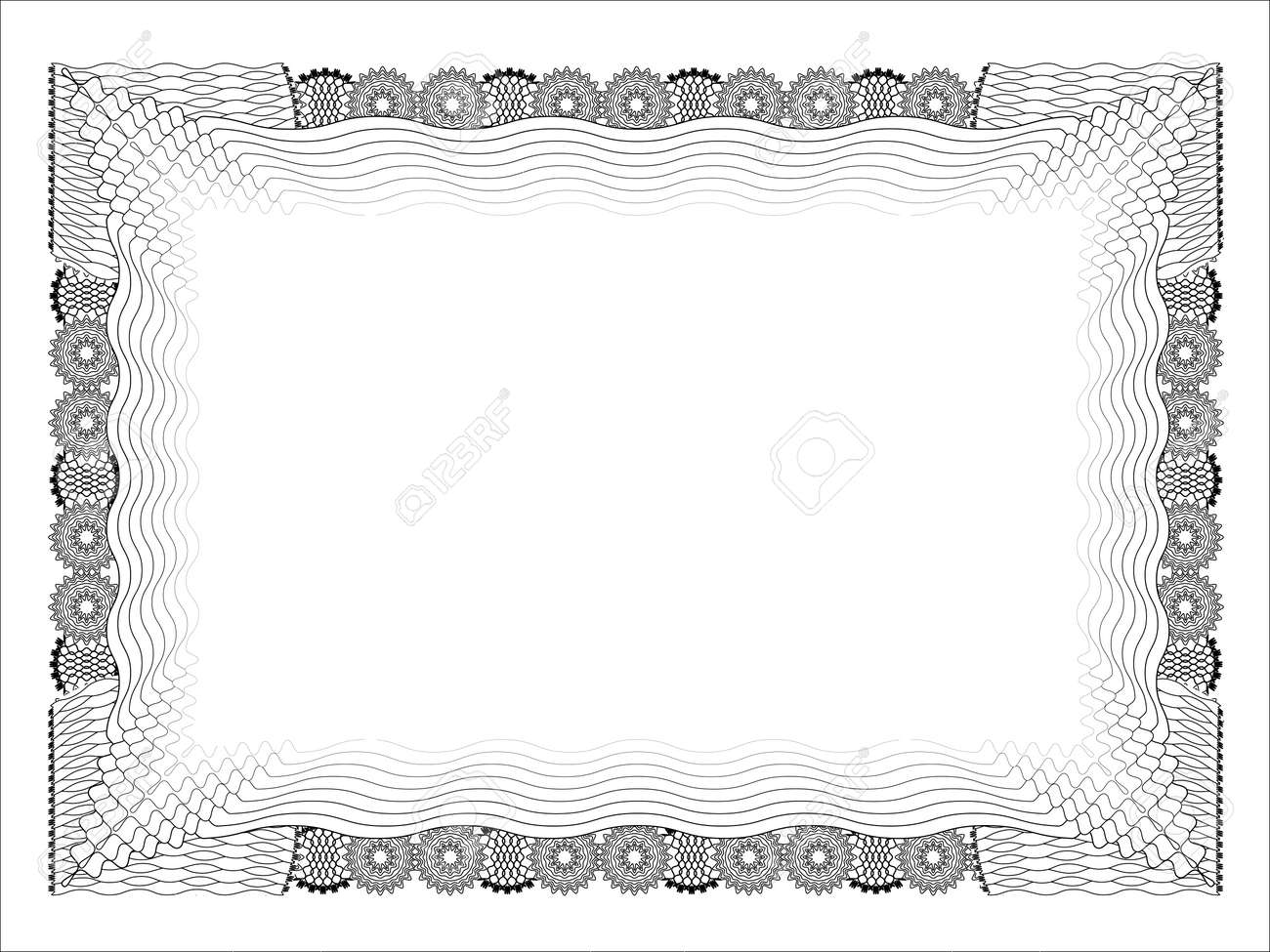 Blank Certificates Free Printable Documents certificate – Blank Share Certificates