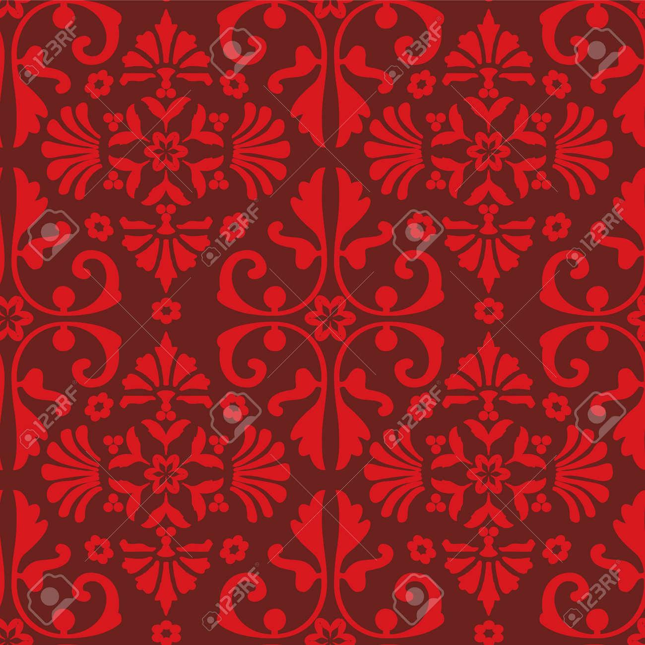 seamless baroque pattern Stock Vector - 7004527