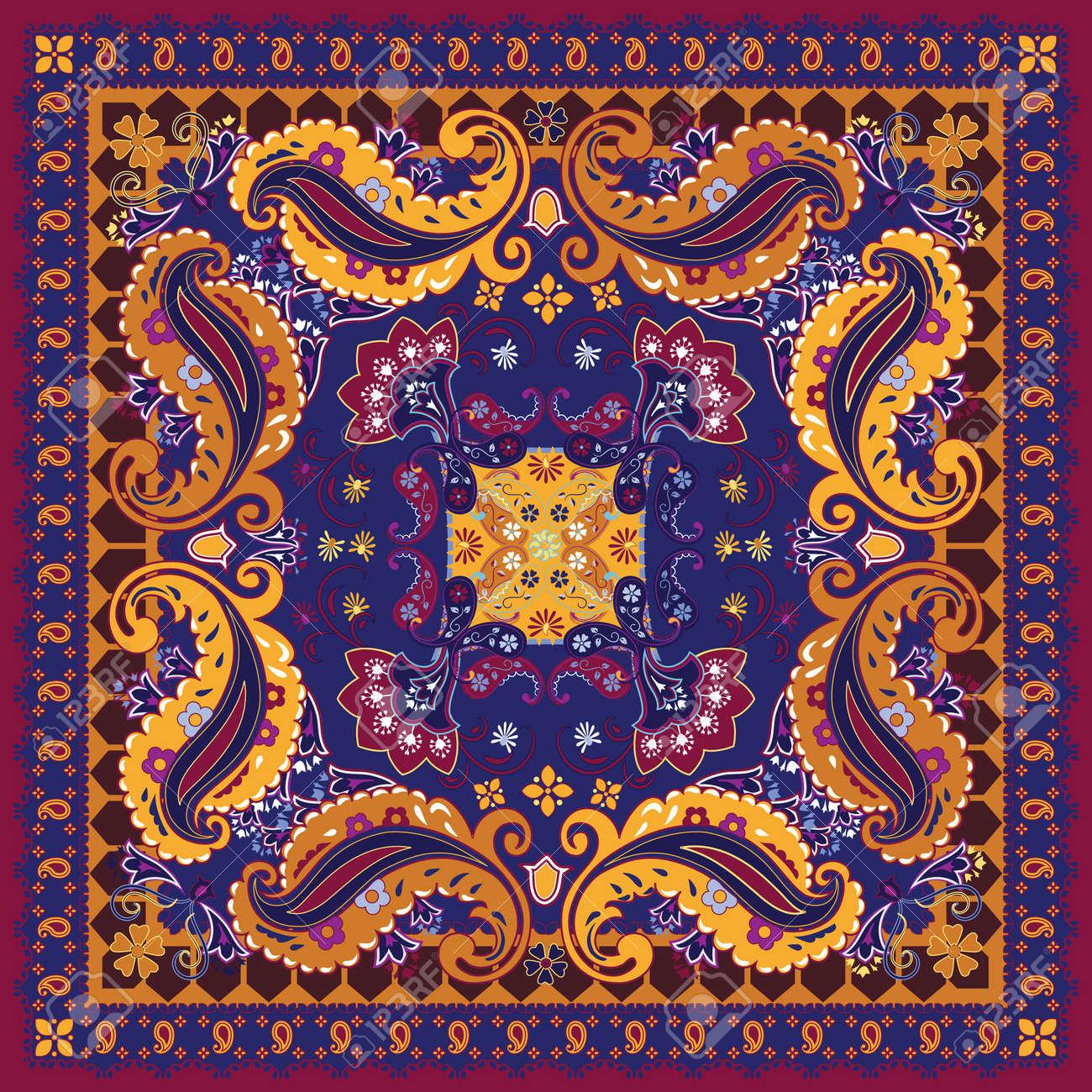 Colorful Bandana Design Stock Vector - 10193306