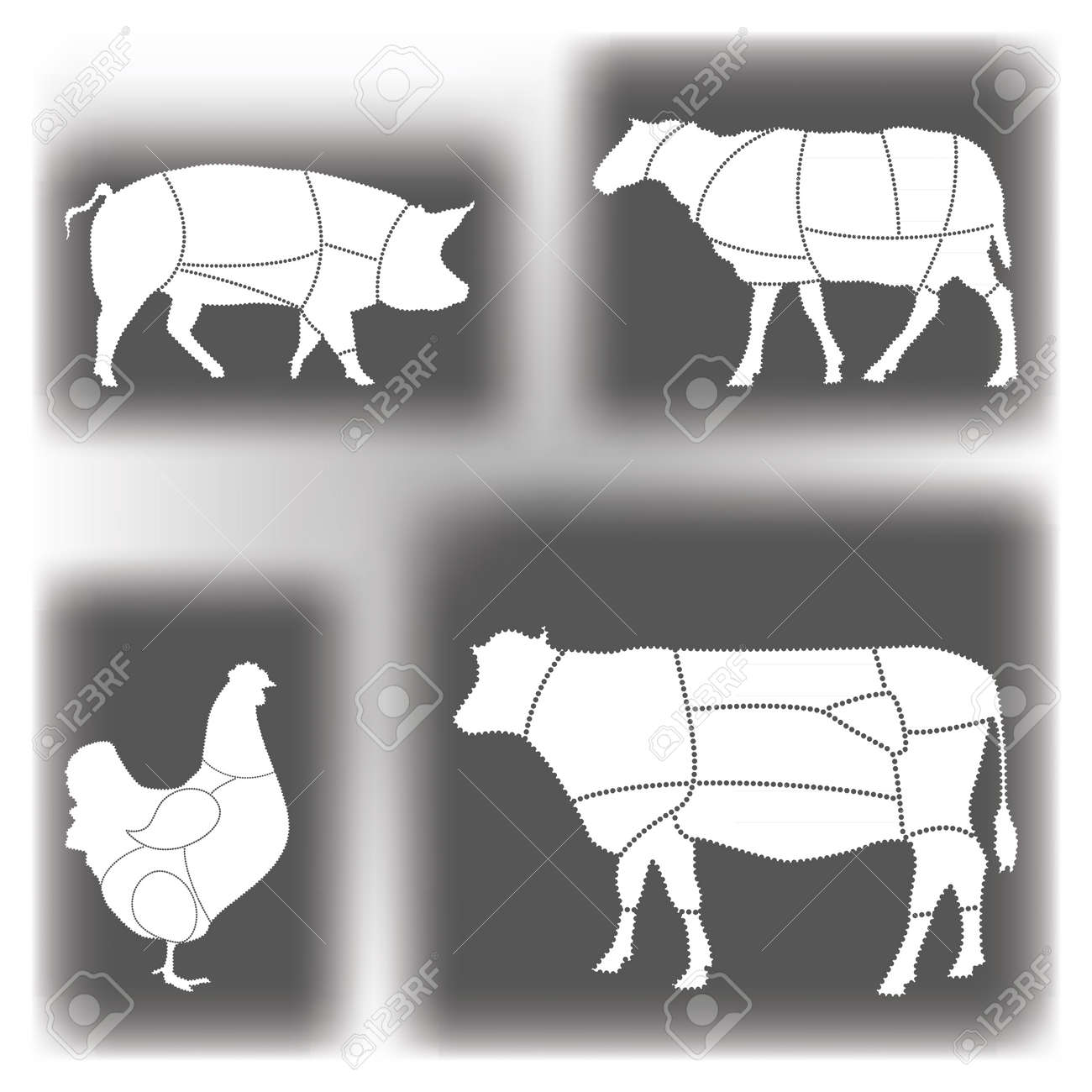 Blank Diagram Of Meat Cuts Wiring Diagrams Isolatedvoltagesensor Powersupplycircuit Circuit Royalty Free Cliparts Vectors And Stock Illustration Rh 123rf Com Beef Chart