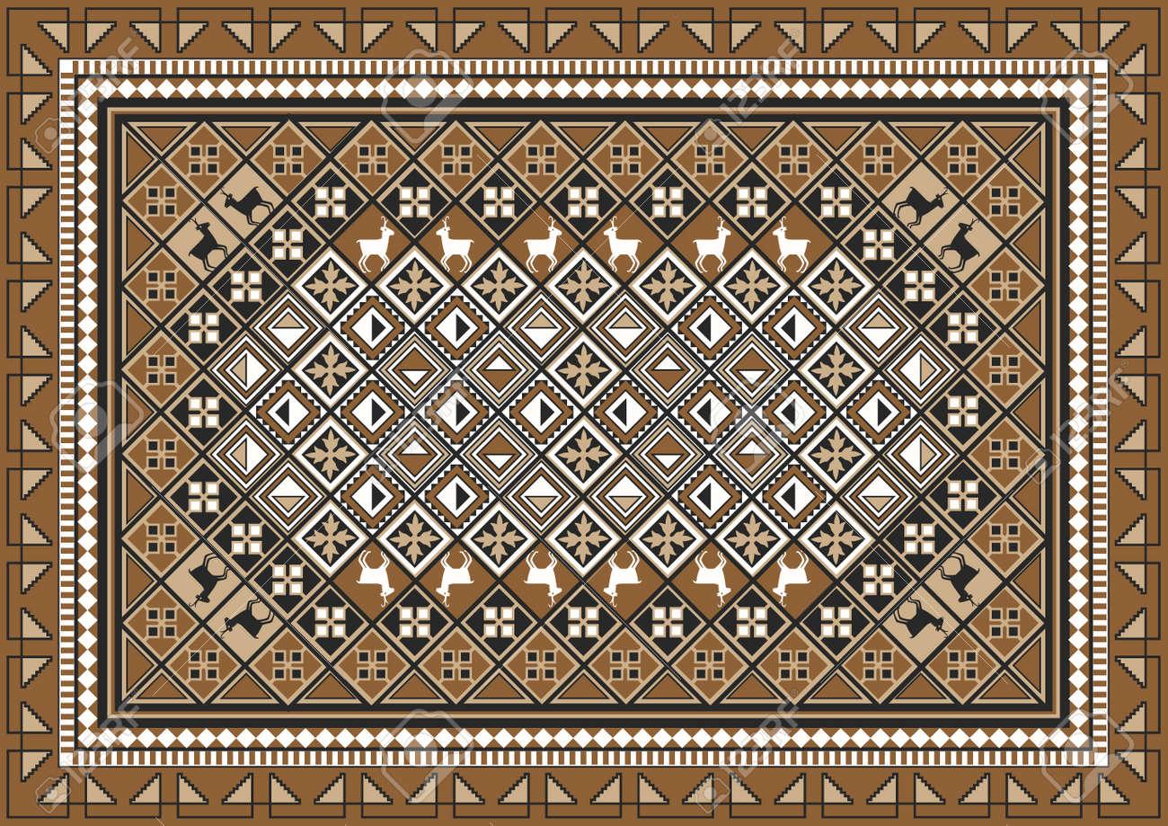 Carpet pattern texture Ballroom Ethnic East Rug Pattern Design Stock Vector 10946066 123rfcom Ethnic East Rug Pattern Design Royalty Free Cliparts Vectors And