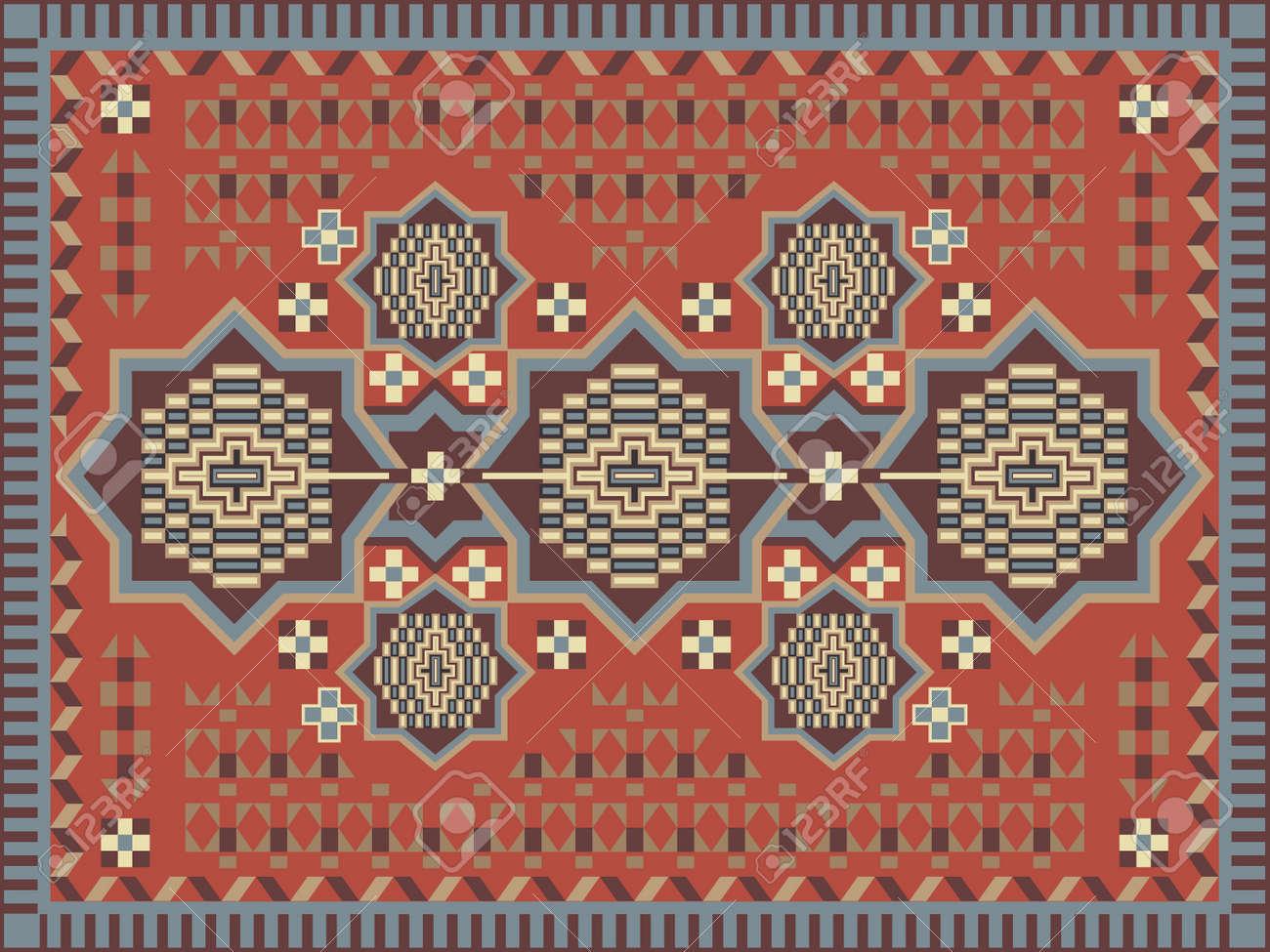 Carpet design royalty free cliparts vectors and stock carpet design stock vector 11663613 baanklon Choice Image