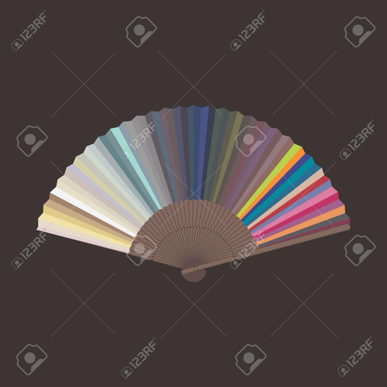 Color sampler art illustration Stock Vector - 14301591