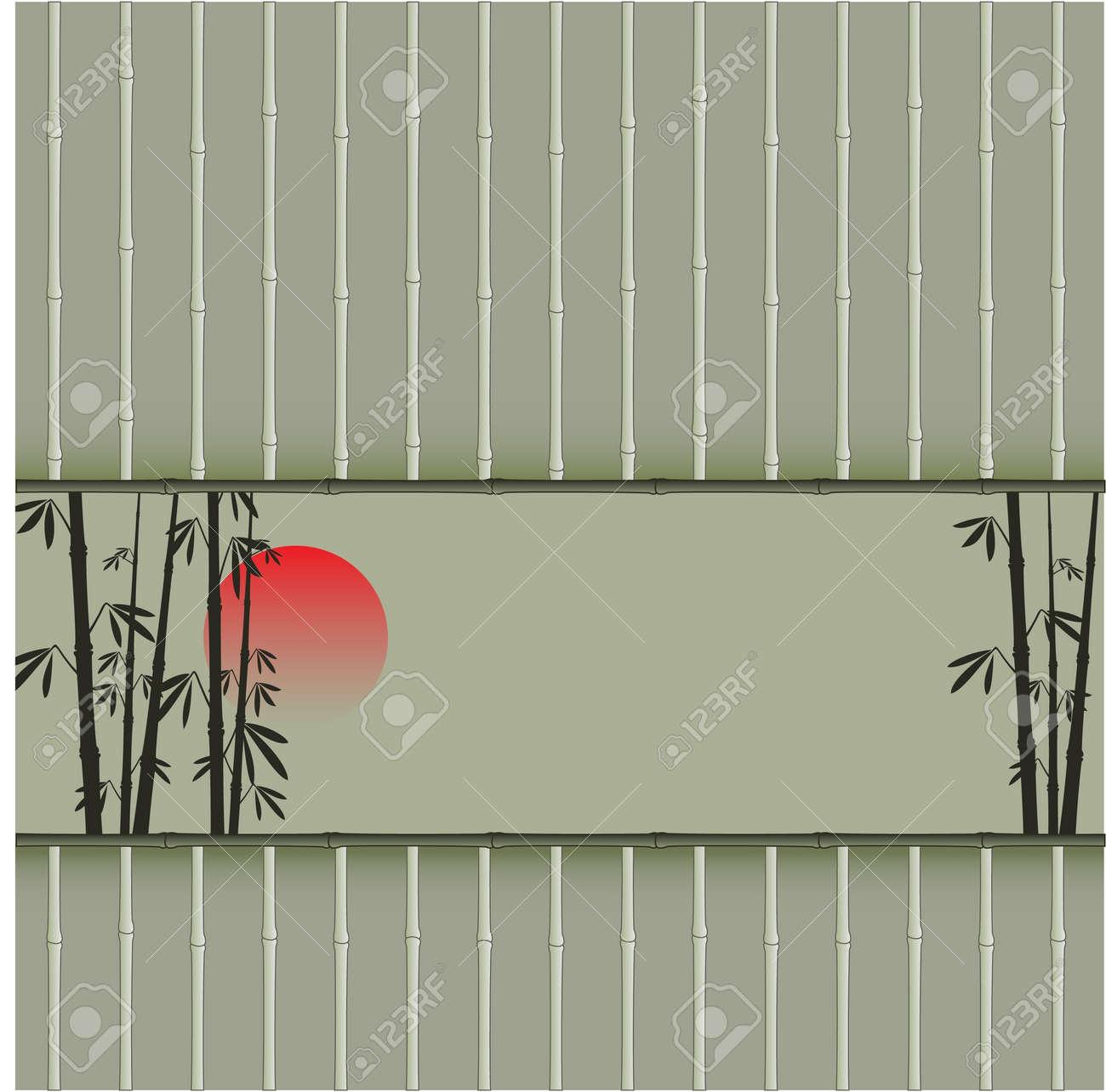 Bamboo design Stock Vector - 10601794