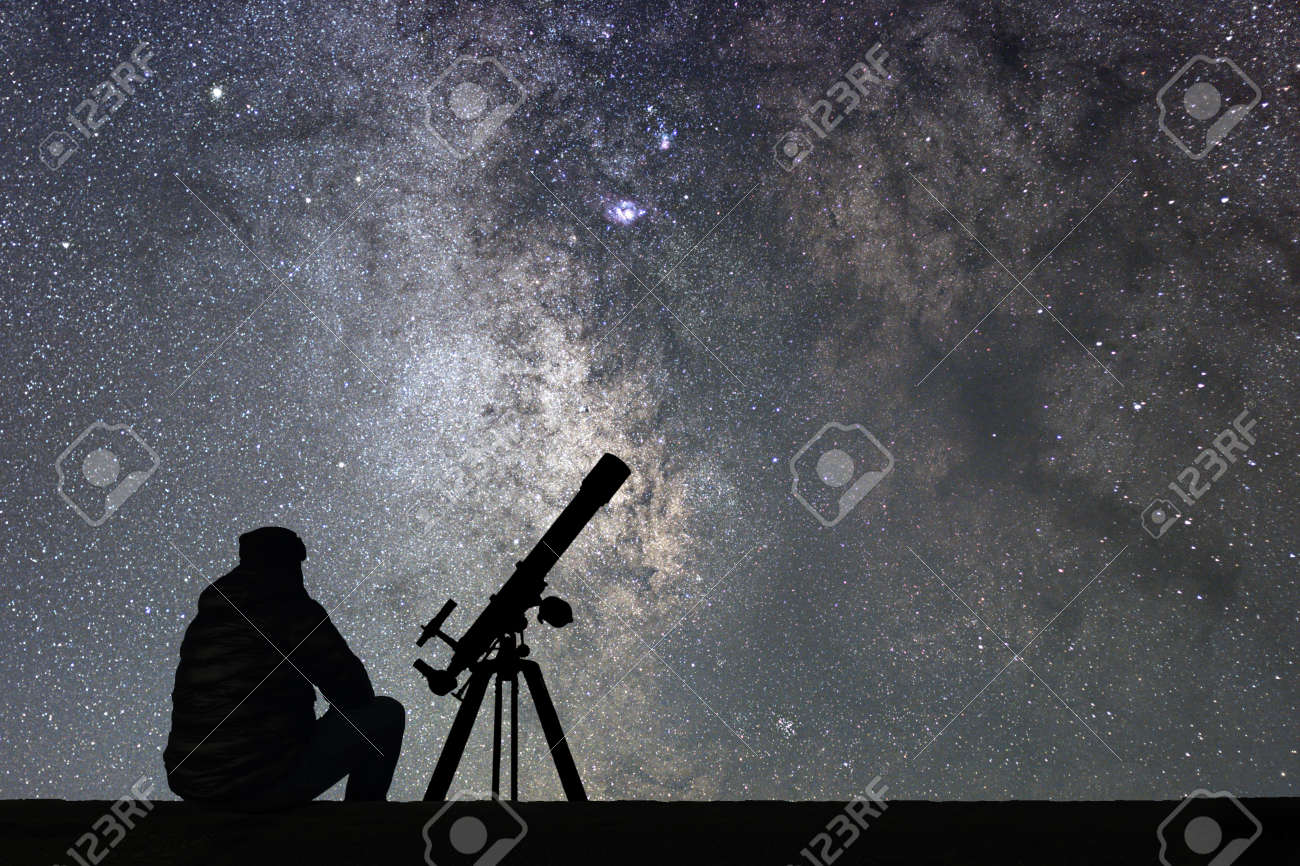 Star Watching Stock Photos And Images - 123RF