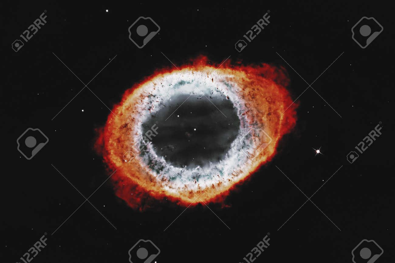 Ring Nebula, Messier 57 . - 143617030